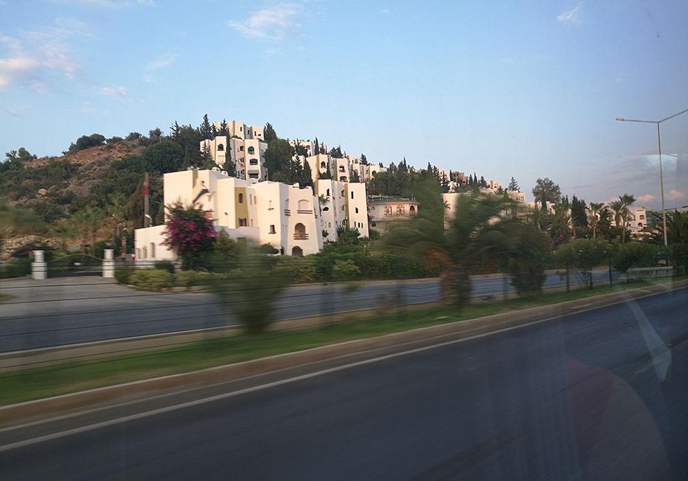 Трансфер до отеля в Турции