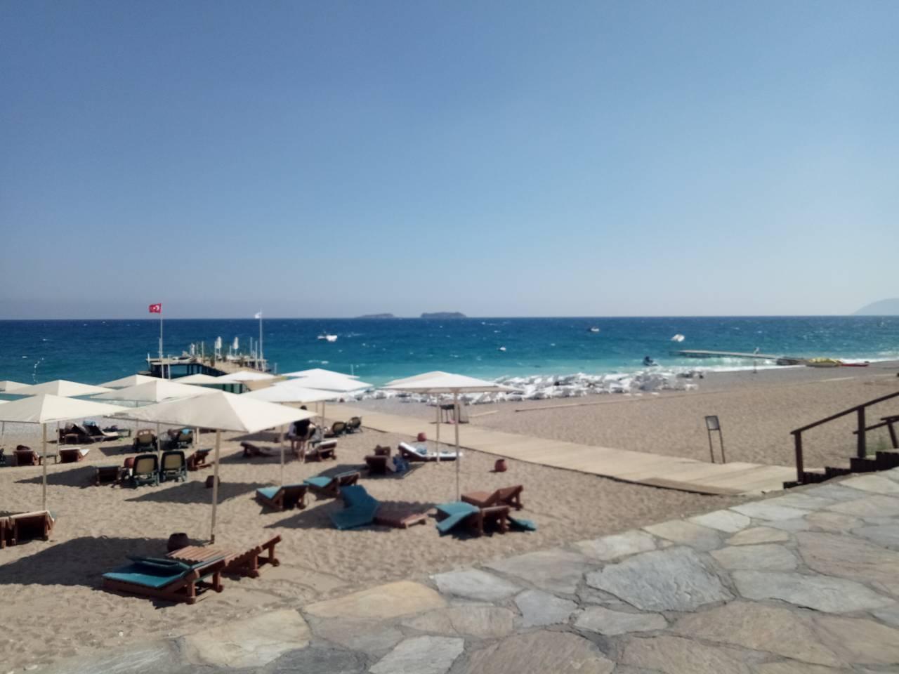 Пляж Текировы (отель 5*Euphoria Hotel)