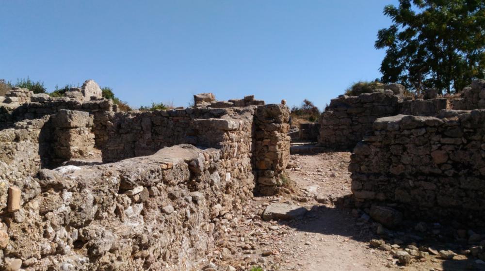 Развалины древнего Иерополиса. Каппадокия